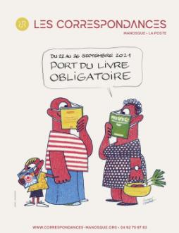 Soirée littéraire Présentation du festival Les Correspondances   