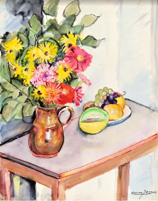Les bouquets de Lucien Jacques  