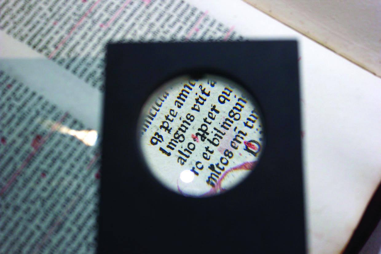 Comment le manuscrit se transforme en livre ? Par Jean-Claude Bernard de l'association Encre et lumière |